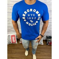 Camiseta Abercrombrie Azul Bic - CABR142 - RP IMPORTS