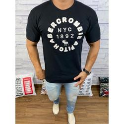 Camiseta Abercrombrie Preto - CABR148 - RP IMPORTS