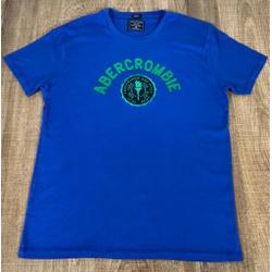 Camiseta Abercrombrie Azul - CABR156 - DROPA AQUI