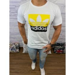 Camiseta Adid Branco⭐ - CADD57 - DROPA AQUI