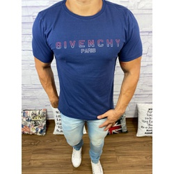 Camisetas Givenchy Marinho⭐ - CAG41 - Out in Store