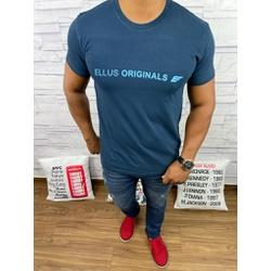 Camiseta Ellus Azul Marinho - camel30 - Out in Store