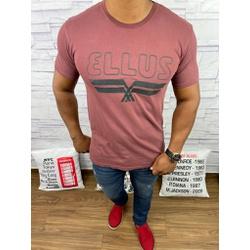 Camiseta Ellus Bordô - camel33 - Out in Store