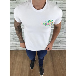 Camiseta Louis Vuitton Branco - CAMLV10 - Out in Store