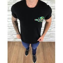 Camiseta Louis Vuitton Preto - CAMLV11 - Out in Store