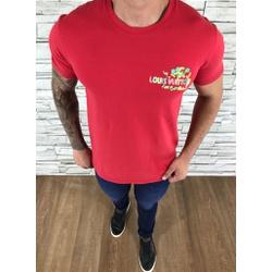 Camiseta Louis Vuitton Vermelho - CAMLV12 - Out in Store