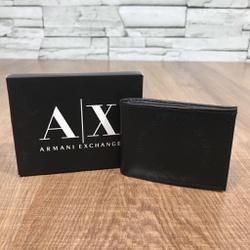 Carteira Armani Preto - CAX014 - Out in Store