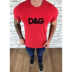 Camiseta Dolce G Vermelho - CDG84 - Out in Store