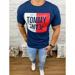 Camiseta TH Marinho - CITH169 - Out in Store