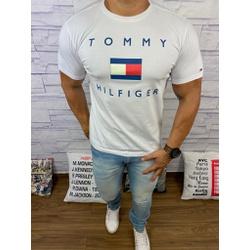 Camiseta Tommy Branco - CITH176 - BARAOMULTIMARCAS