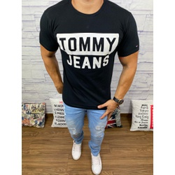 Camiseta Tommy Preto - CITH179 - RP IMPORTS