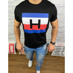 Camiseta Tommy Preto - CITH180 - RP IMPORTS