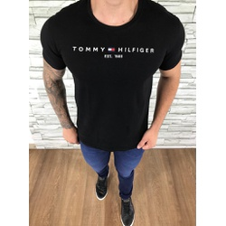 Camiseta TH Preto - CITH203 - Out in Store