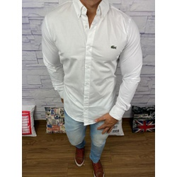 Camisa Social Manga Longa LCT Branco - CALCT011 - Out in Store