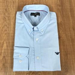 Camisa Manga Longa Armani Azul claro - CMLAX49 - RP IMPORTS