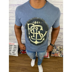 Camiseta Rsv Azul Claro⭐ - CMTRV48 - RP IMPORTS