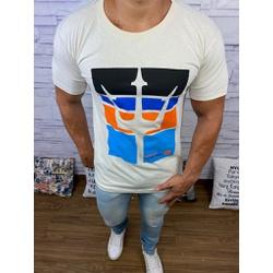 Camiseta OSK Creme - COK101 - RP IMPORTS