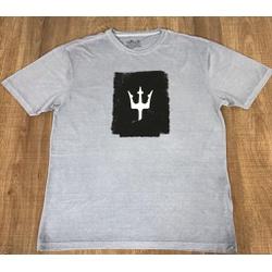 Camiseta OSK Cinza⭐ - COK112 - BARAOMULTIMARCAS