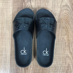 Chinelo Slide CK Preto - CSCK03 - Out in Store