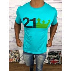 Camiseta Osk - Azul ⭐ - Shopgrife