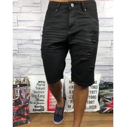 Bermuda Jeans JJ - Preta - FDFR99 - Out in Store