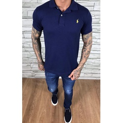Polo RL Marinho Logo Amarelo - PRL066 - Out in Store