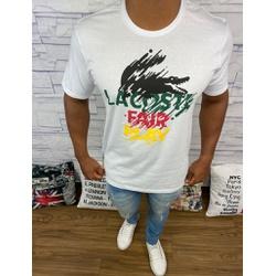 Camiseta LCT Branco⭐ - PRLCT18 - BARAOMULTIMARCAS