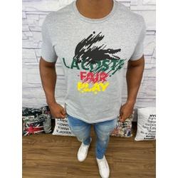 Camiseta LCT Cinza Claro⭐ - PRLCT19 - BARAOMULTIMARCAS