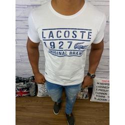 Camiseta LCT Branco Dth Azul⭐ - PRLCT20 - BARAOMULTIMARCAS