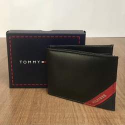 Carteira Tommy Preto - TH-094 - RP IMPORTS