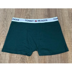 Cueca Tommy Verde Escuro - TH0397 - RP IMPORTS