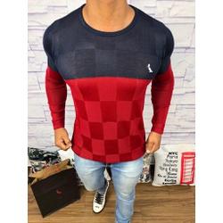 Suéter Rv - Azul Marinho e vermelho - XS23 - Out in Store