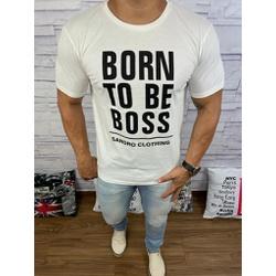 Camiseta Hugo Boss - Promoção - Creme - RDFX45 - RP IMPORTS