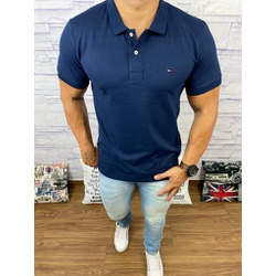 Polo TH Azul Marinho⭐ - POTH28 - Out in Store