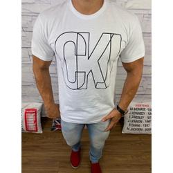 Camiseta Ck Branco - CCKK30 - VITRINE SHOPS