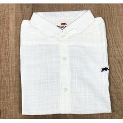 Camisa Manga Curta DG Creme - CDP28 - Queiroz Distribuidora Multimarcas