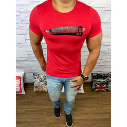 Camiseta Dsquared2 Vermelho⭐ - CDS14 - DROPA AQUI