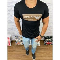 Camiseta Armani Preto⭐ - Shopgrife