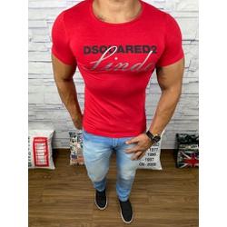 Camiseta Dsquared2 Vermelho⭐ - CDS24 - DROPA AQUI