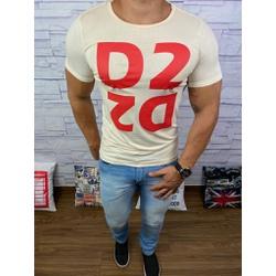 Camiseta Dsquared2 Creme⭐ - CDS19 - Queiroz Distribuidora Multimarcas