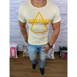 Camiseta Dsquared2 Creme⭐ - CDS27 - Queiroz Distribuidora Multimarcas