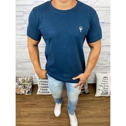 Camiseta Osk - Malhão Azul Marinho - COSKM312 - Queiroz Distribuidora Multimarcas