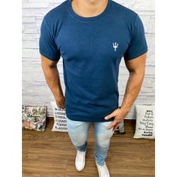 Camiseta Osk - Malhão Azul Marinho - COSKM313 - Queiroz Distribuidora Multimarcas
