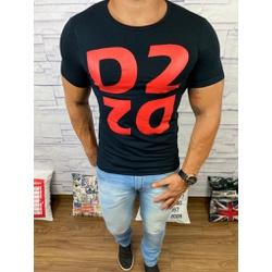 Camiseta Dsquared2 Preto⭐ - CDS17 - Queiroz Distribuidora Multimarcas
