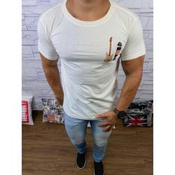 Camiseta Osk Creme ⭐ - COK38 - Queiroz Distribuidora Multimarcas