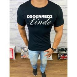 Camiseta Dsquared2 Preto⭐ - CDS22 - DROPA AQUI