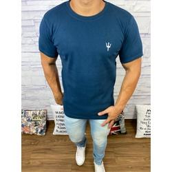 Camiseta Osk - Malhão Azul Marinho⭐ - COSKM305 - Queiroz Distribuidora Multimarcas