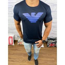 Camiseta Armani Azul Marinho⭐ - Shopgrife