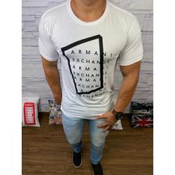 Camiseta Armani Branco - Shopgrife