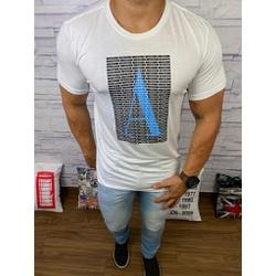 Camiseta Armani Branco⭐ - Shopgrife